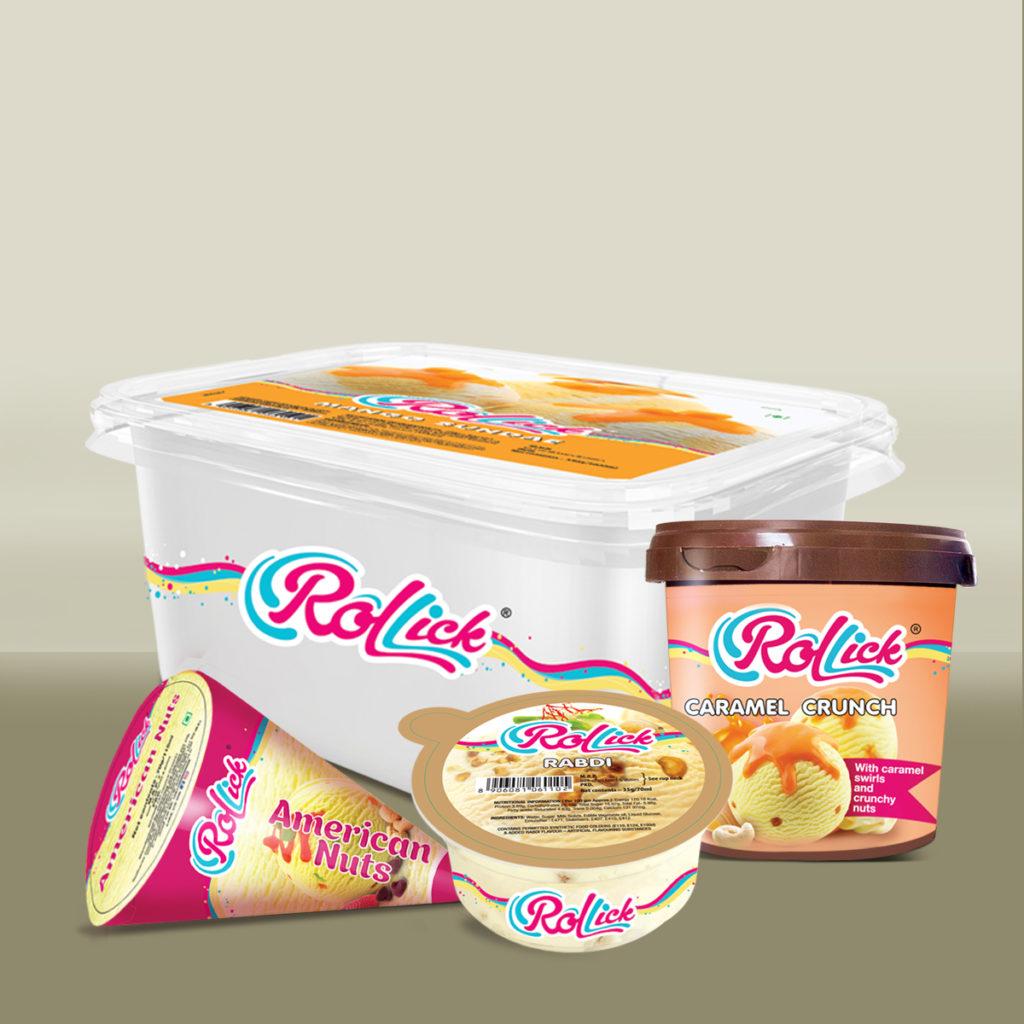 Rollick Ice cream